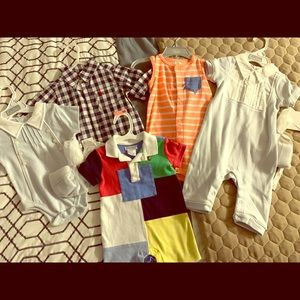 5 piece Boy Summer Bundle, size 6 months